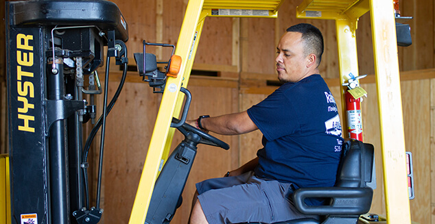 industrial Tucson moving services