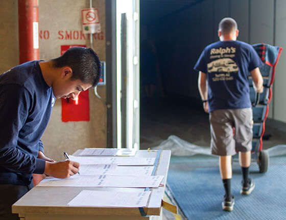 final mile logistics services verifying moving checklists