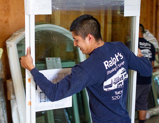 final mile logistics services moving glass windows