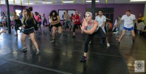 Dance class group at BreakOut Studios