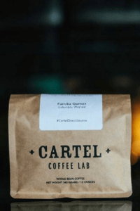 Cartel Coffee Lab subscription coffee bag