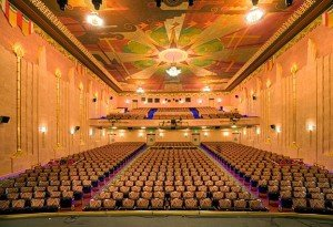 view of the Fox Theater Tucson from the stage