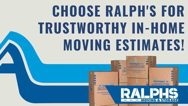 trustworthy in home moving estimates
