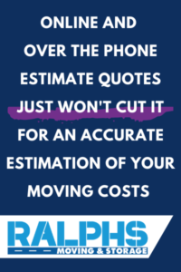 home moving estimates